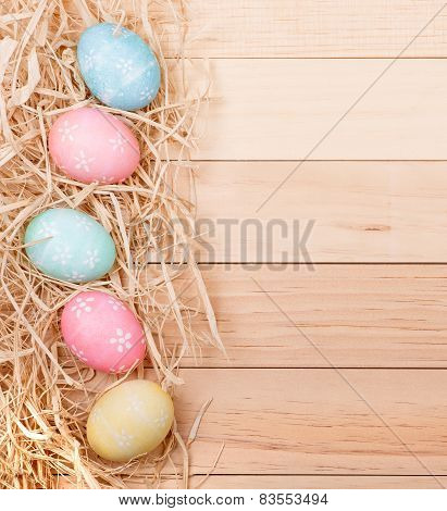 Easter Egg Border