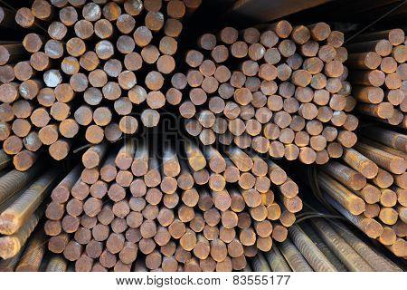 Bundles Of Rolled Metal Fittings