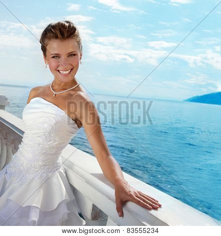 Series: Beautiful Bride At The Water View