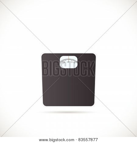 Weighing Scale Illustration