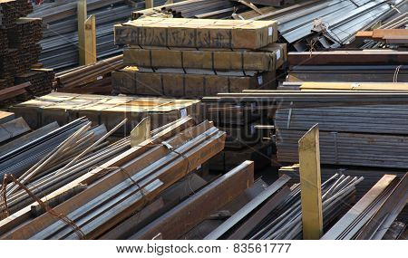 Warehouse Rolled Metal