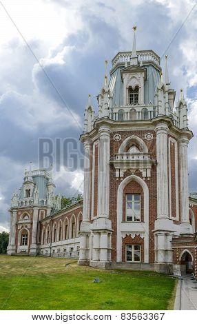 Ancient Palace In Tsaritsyno Park