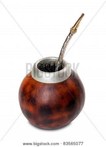 Calabash Gourd With Bombilla
