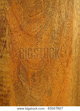 Mango Wood grain close up