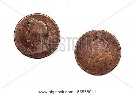Charles II Penny 1675 Britain