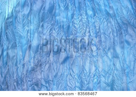 Abstract Soft And Wavy Chiffon Texture Background
