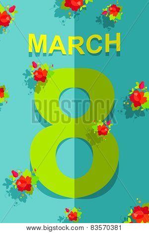 8 March. International women's day