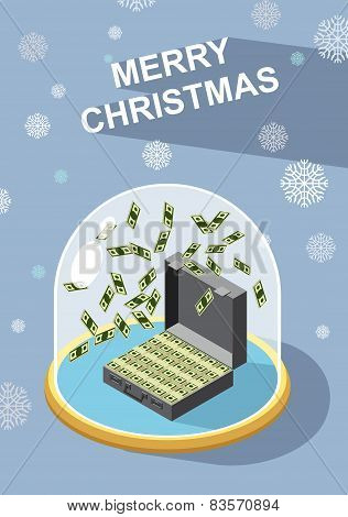 marry christmas. Wealth