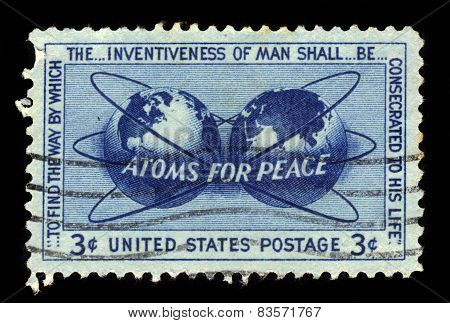 Atomic Energy Encircling The Hemispheres, Atoms For Peace