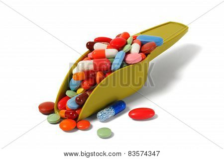 Scoop With Pills