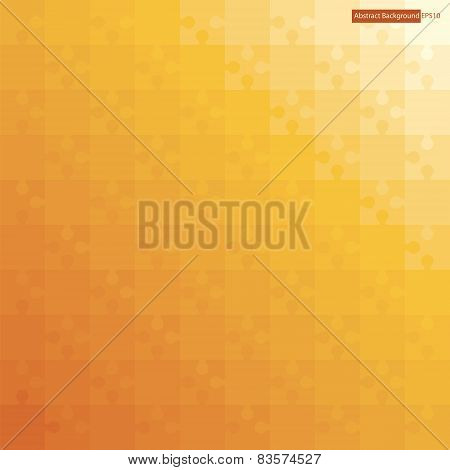Printabstract background jigsaw puzzle with orange color gradient background.