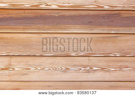 wooden pine boards with horizontal texture