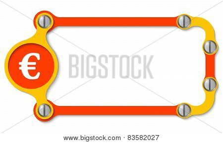 Vector Frame With Screws
