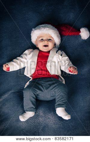 Cute cristmas  baby