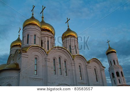 Church Trinity Cathedral In Bryansk