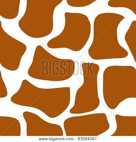 Seamless animal pattern for textile design.