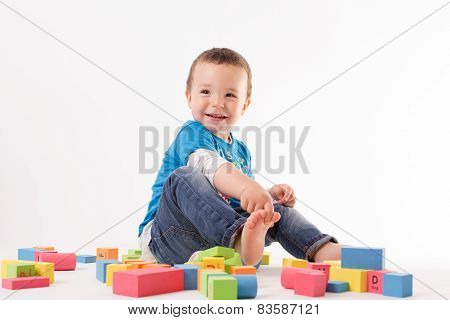 Playing Small Boy