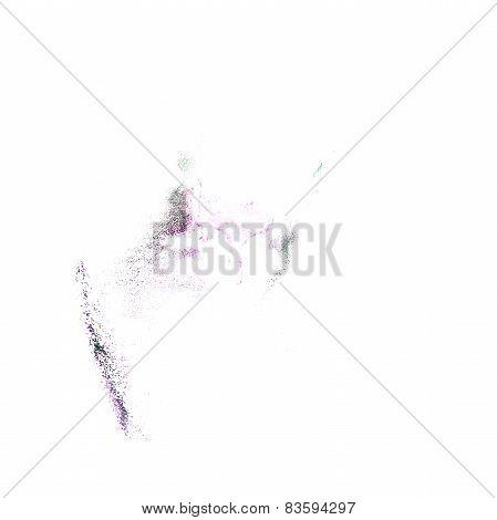 Blot lilac divorce illustration artist of handwork is isolated o