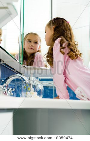 Girl In The Bathroom