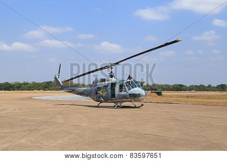 Helicopter Show On Children's Day At Korat Wing 1 Royal Thai Airforce
