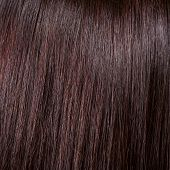 pic of hair streaks  - beautiful shine black hair background and texture - JPG