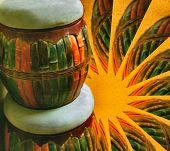 Постер, плакат: Африканский барабан