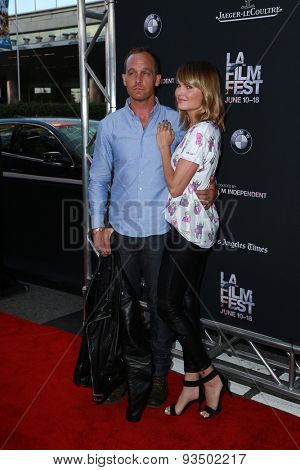 LOS ANGELES - JUN 10:  Ethan Embry, Sunny Mabrey at the