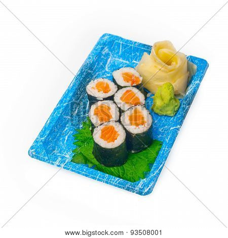 Take Away Sushi Express On Plastic Tray