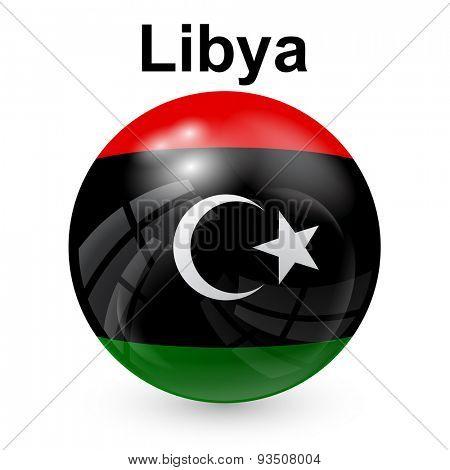 State flag of Libya