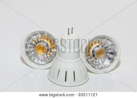 Three LED lamps