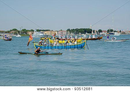 Venetians Celebrate Festa Della Sensa