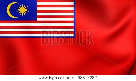 Civil Ensign Of The Malaysia