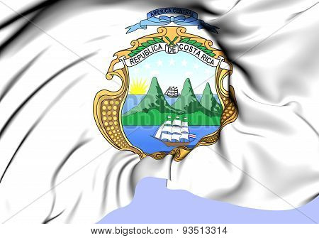 Costa Rica Coat Of Arms