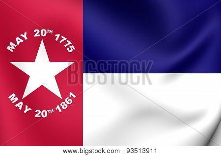 Flag Of The North Carolina (1861), Usa.