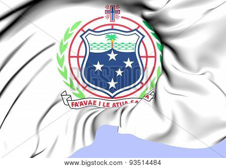 Independent State Of Samoa Coat Of Arms