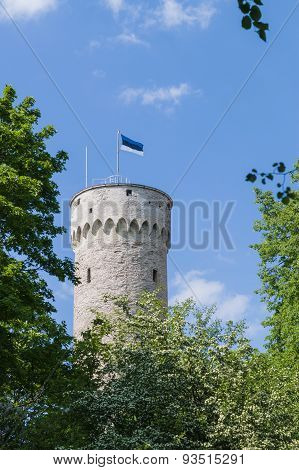 Tall Hermann - Toompea Castle Tower In Tallinn, Capital Of Estonia