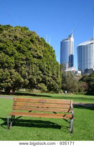 Botanic Gardens Seat