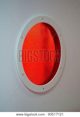 Round, Orange The Hatch