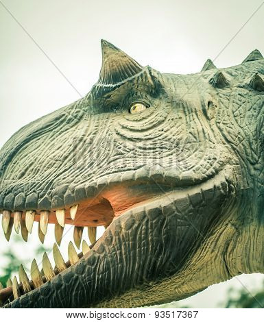 Head Ancient Dinosaur
