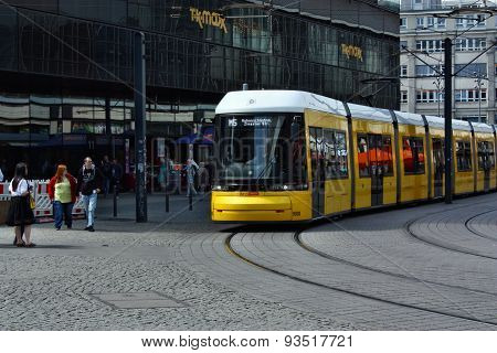 The Oncoming Tram To Alexanderplatz
