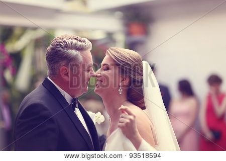 Bride Meeting The Groom