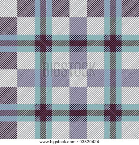 Gray seamless tartan pattern