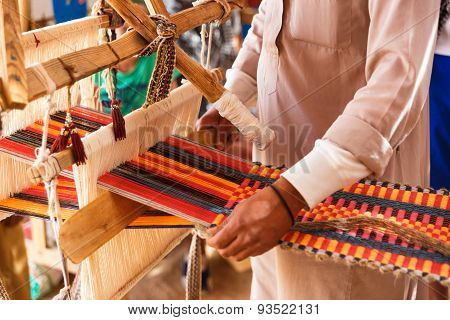 Man Produces The Fabric
