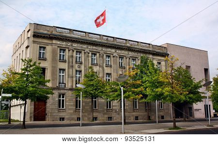 The Swiss Embassy In Berlin