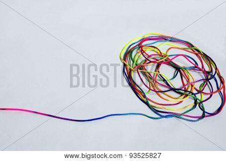 colored cord
