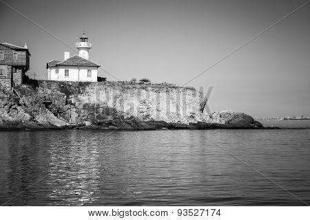 St. Anastasia Island. Bulgaria. Monochrome