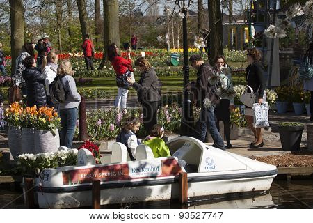 Famous dutch flowerpark