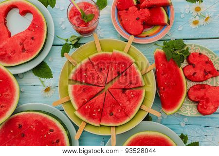 Watermelon - summer delights of watermelon, summer party