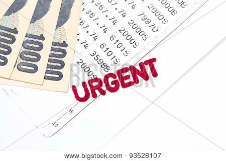 Urgent Document, Bank Statement