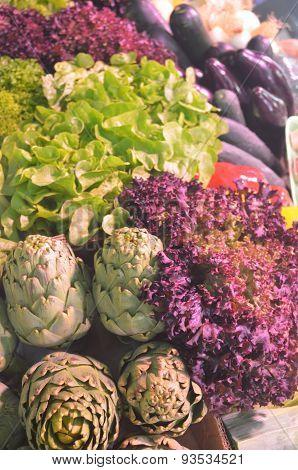 Market Fruit And Vegetables
